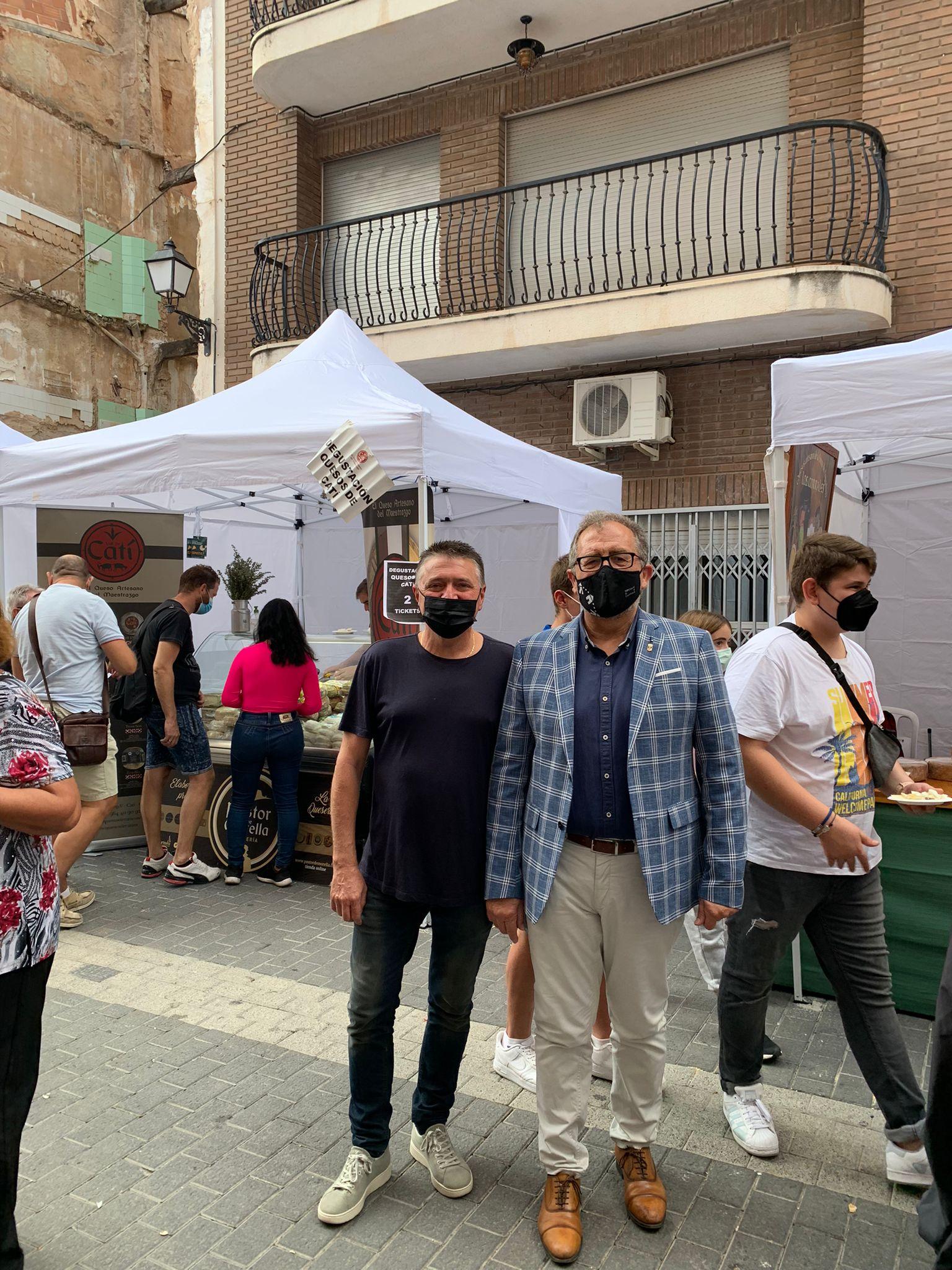 Respaldo de José Martí a la Feria del Queso de Montanejos