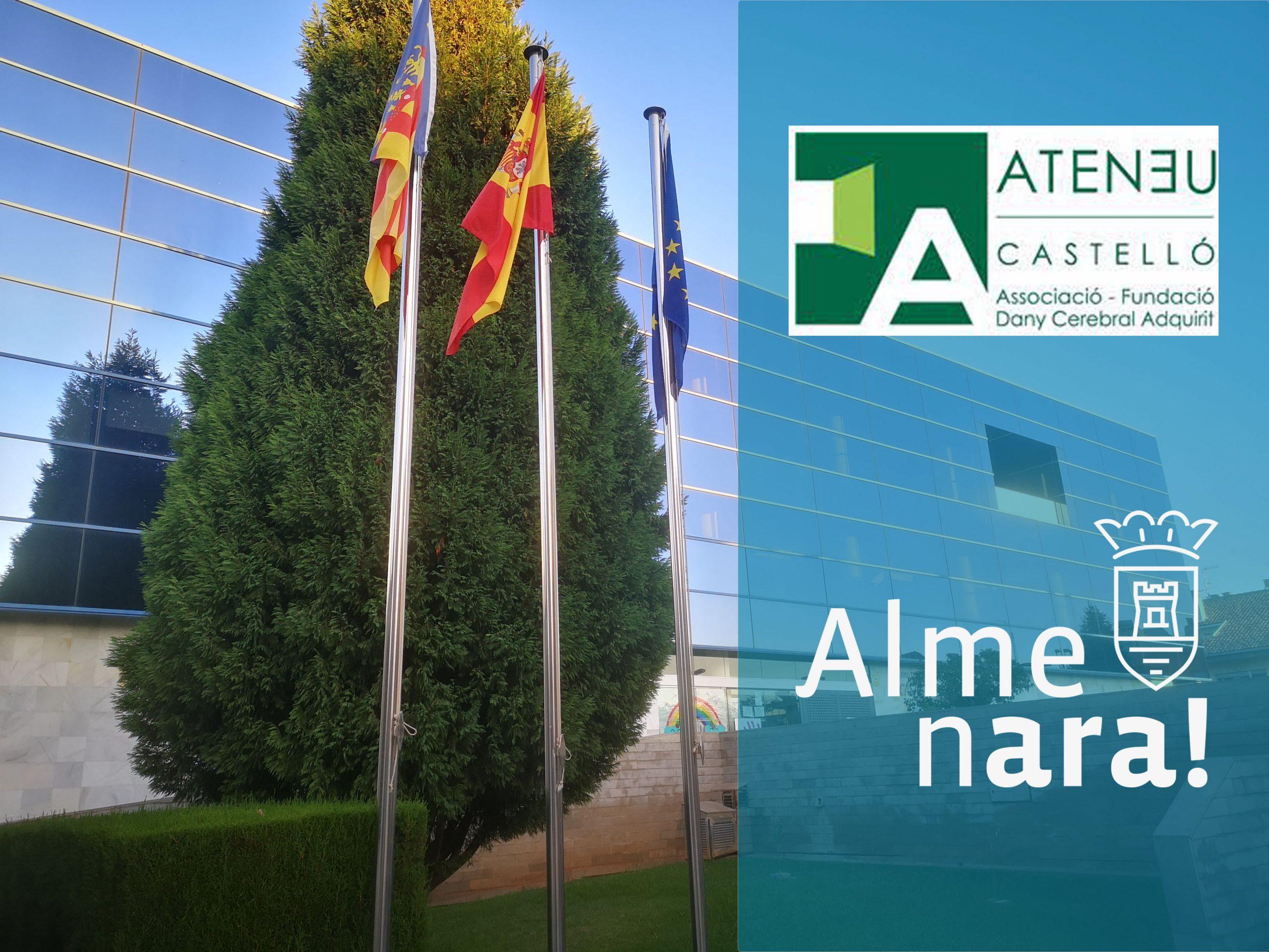 Almenara y la Fundación de Daño Cerebral adquirido Ateneu de Castelló firman un acuerdo de colaboración