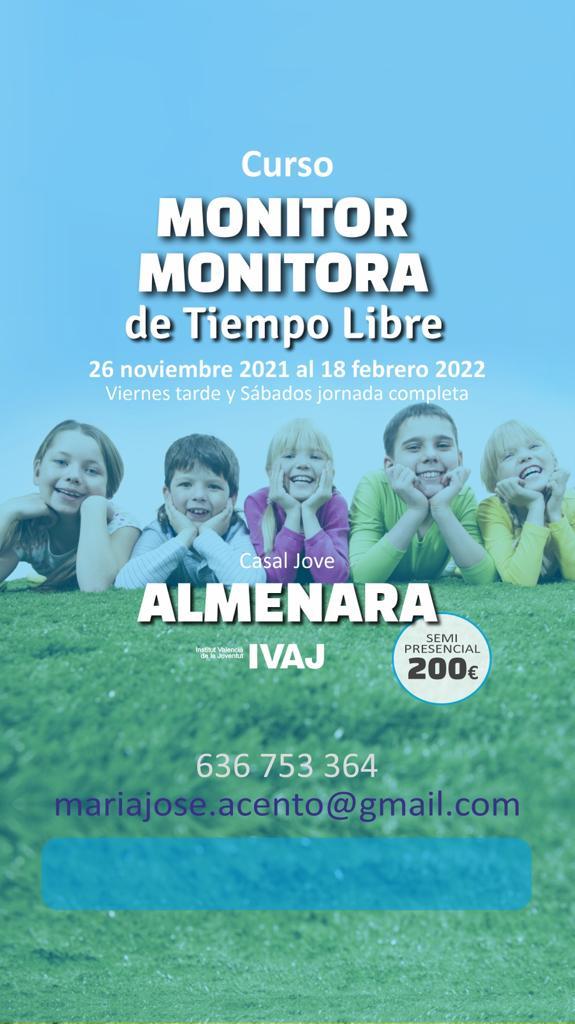 Almenara organiza un curso formativo de monitores y monitoras de ocio y tiempo libre