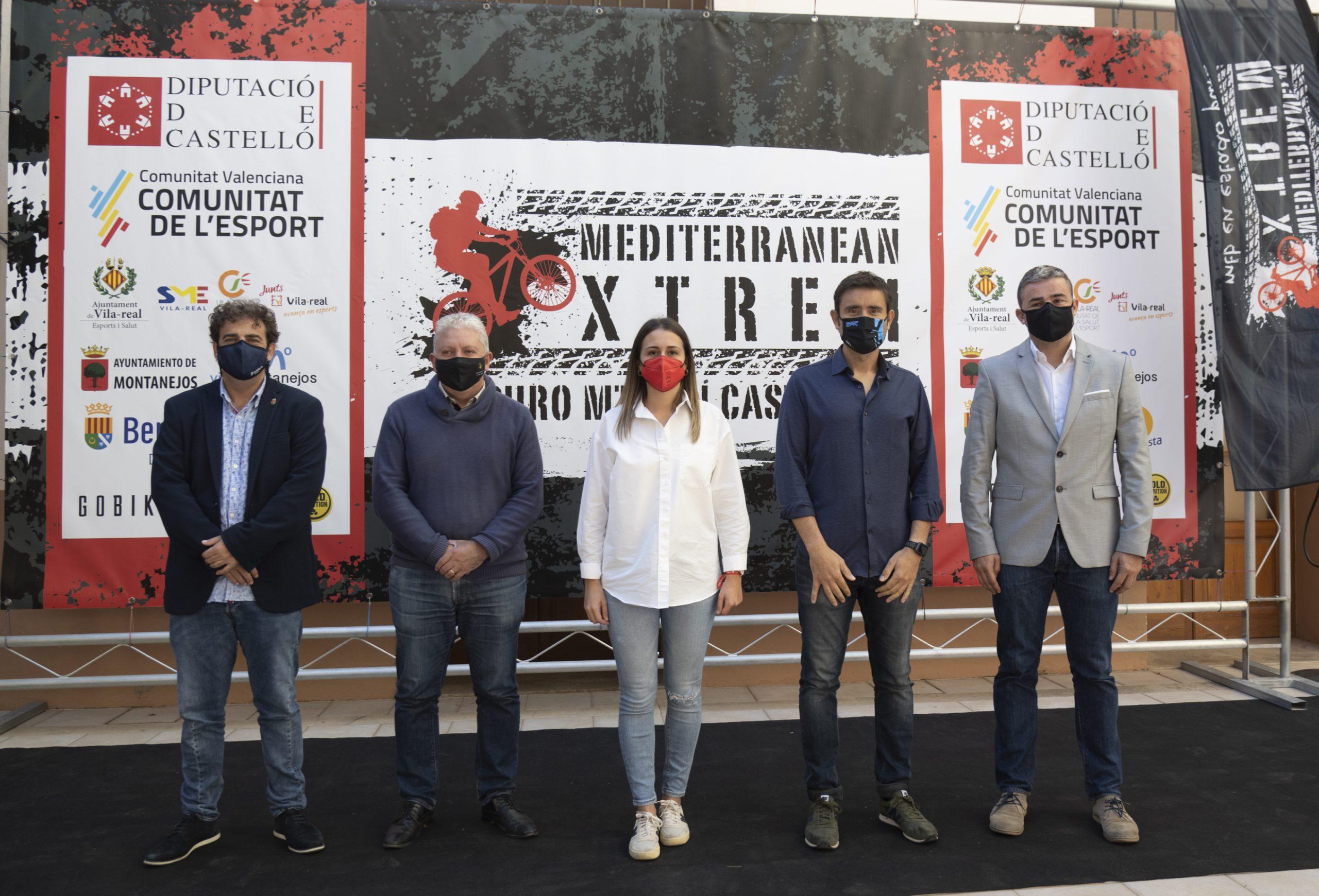 La Diputación de Castellón impulsa con 35.000 euros la séptima edición de la marcha cicloturista Mediterranean Xtrem