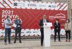 """José Martí destaca la fortaleza de Penyagolosa Trails para """"situar a Castellón en el epicentro de las grandes competiciones deportivas a nivel internacional"""""""