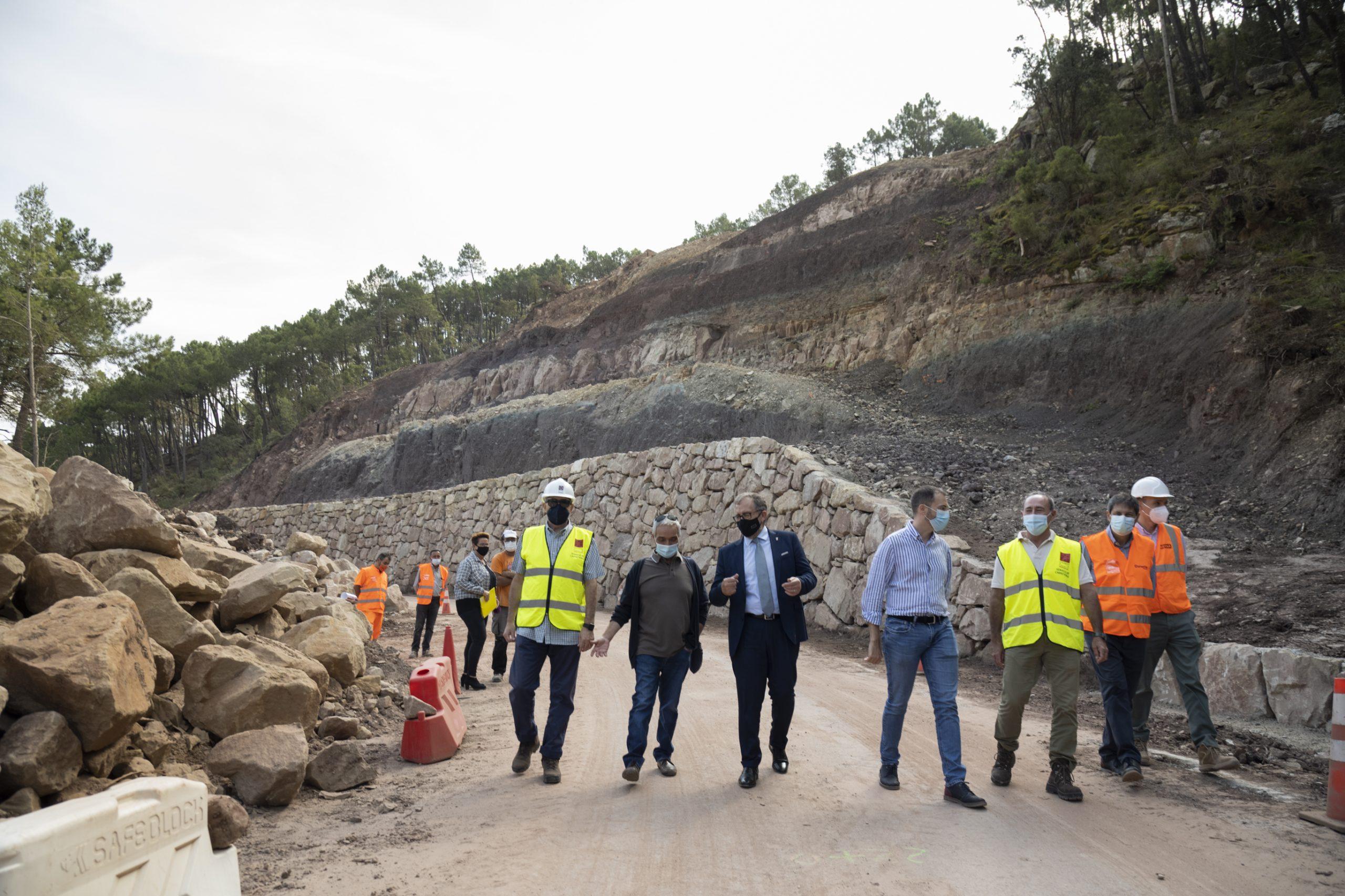 La Diputación de Castellón finaliza las obras de mejora de la seguridad vial de la CV-207 en Puebla de Arenoso, que han supuesto una inversión de 336.000 euros