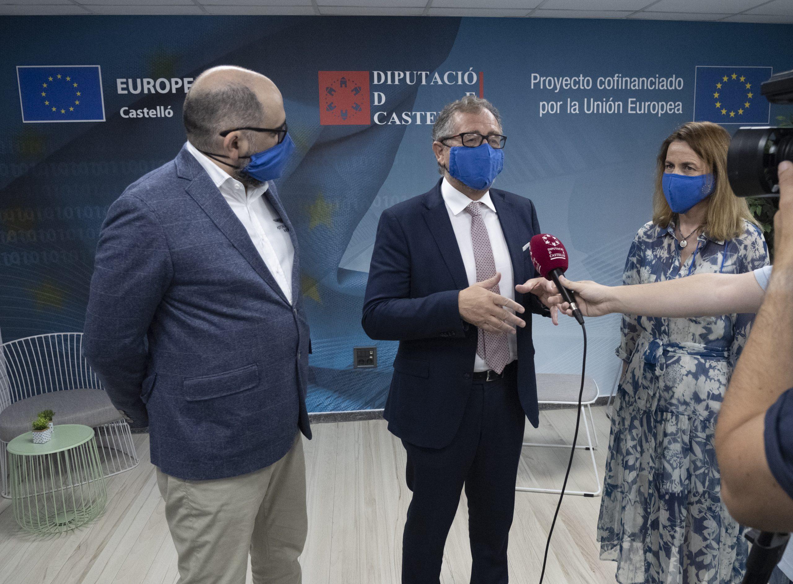 La Diputación de Castellón adjudica el contrato para la captación de proyectos que permitan acceder a fondos europeos y reactivar la provincia de Castellón