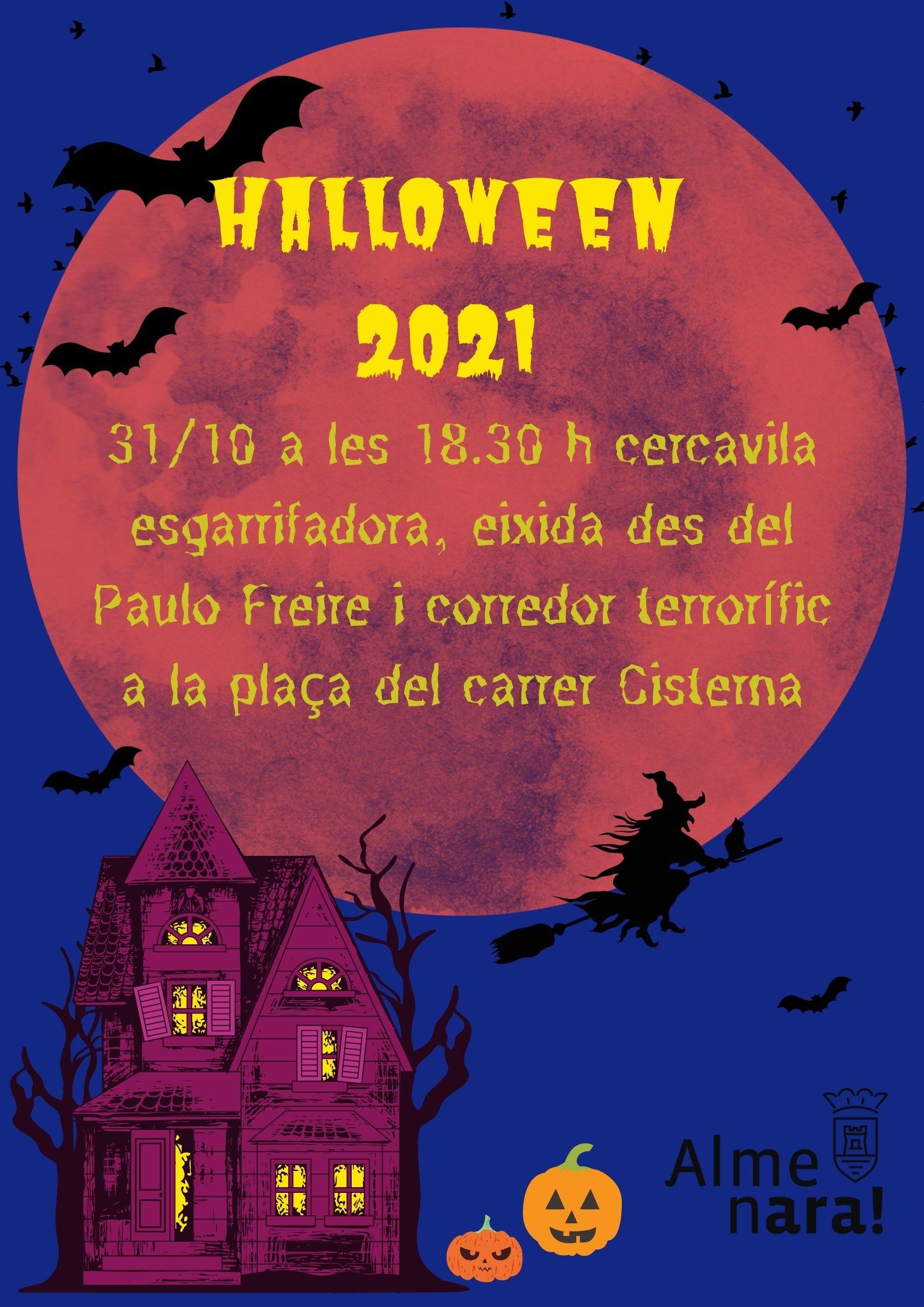 Almenara recupera la celebración de Halloween el próximo 31 de octubre