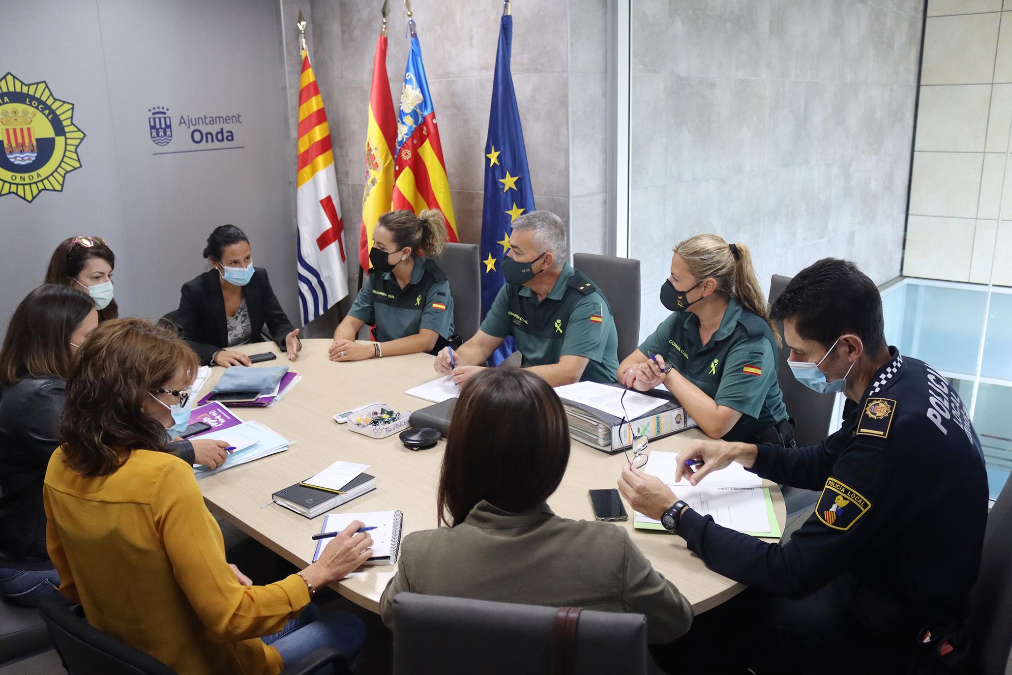 Onda reúne a la Mesa Local para la Detección, Actuación y Coordinación contra la Violencia de género