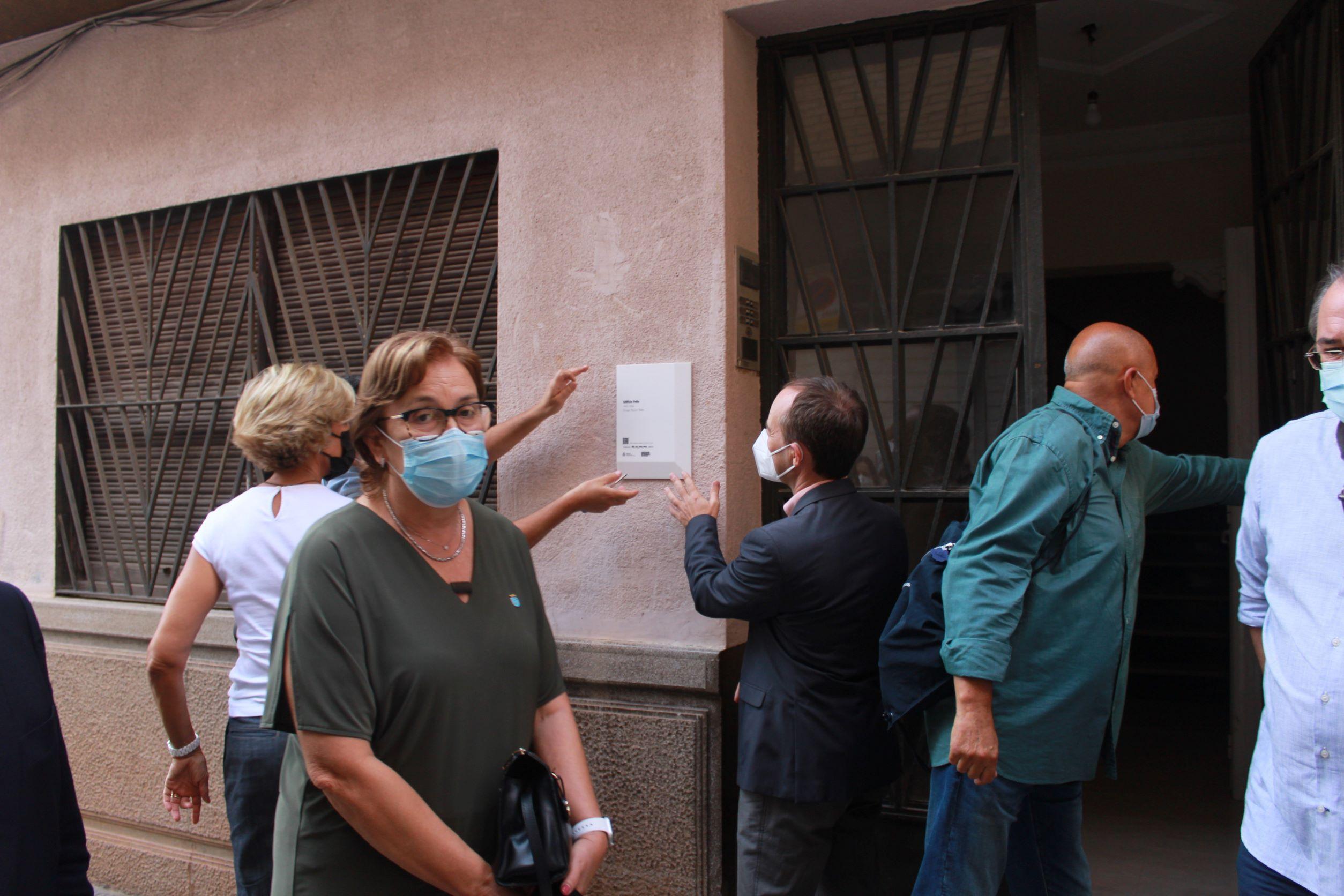 La Semana Internacional de la Arquitectura reconoce  el refugio antiaéreo y la casa Felis como referentes del patrimonio de Burriana